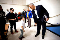 Stedman Graham visits Aurora School